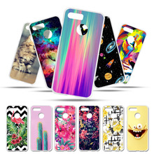 Bolomboy Painted Case For Lenovo K5 Play Silicone Soft TPU Cases Plus 2018 Cover Wildflowers Animal