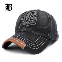 [FLB] Wholesale   Baseball     Cap   Bone Letter FLB Embroidery casquette Snapback Hat Gorras hats Hats For Men Women Hombre Solid F213