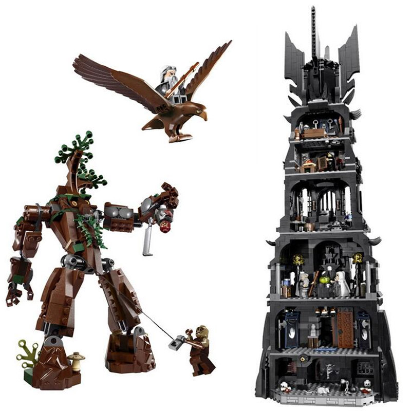 Lord of the Rings The Tower of Orthanc 10237 Dumbledore Model Building Block 2430pcs Bricks Compatible With Legoings