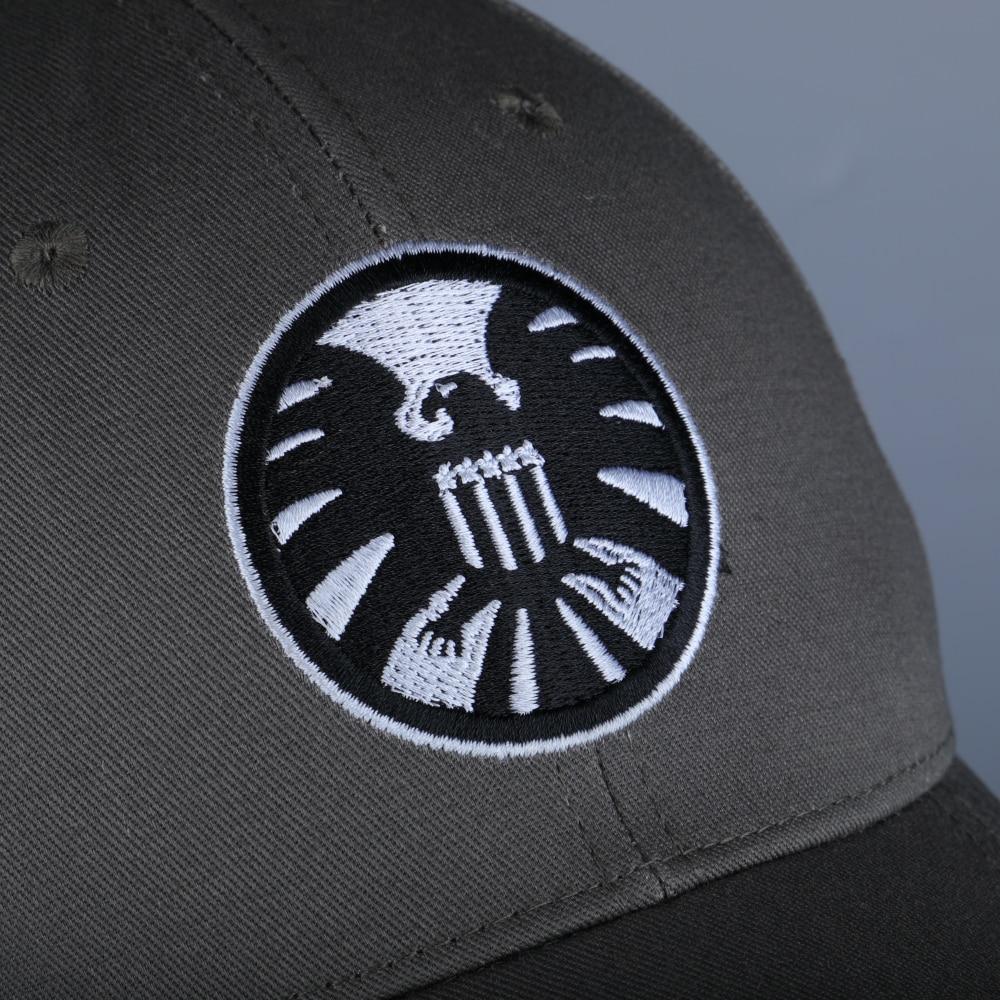 New Captain Marvel Carol Danvers Caps Unisex Adjustable Hip Hop Sun Hat Snapback Agents of S.H.I.E.L.D. Shield Baseball Caps (11)