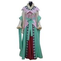 2017 Magi The Labyrinth Magic Kougyoku Ren Fairy Cosplay Dress
