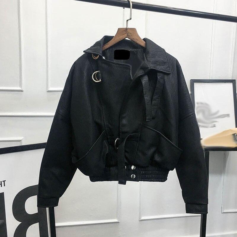 Fur Coat Faux Women Leather Jacket Vetement Femme 2018 Clothes Korean Vintage Festival Harajuku Fur Vest Pele Kawaii M2019670