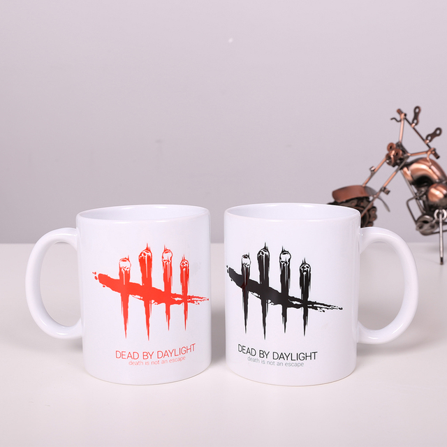 Game Dead By Daylight Coffee Mugs Good Christmas Gift Cup Beer Glass Tea Mug Unicorn Logo