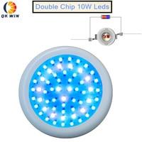 Qkwin UFO 600 Вт LED гидропоника освещение ufo 60x10 Вт полный спектр светодиодные светильники для выращивания комнатных растений Цветение и выращива...