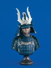 Unpainted Kit 1/8 japan samurai  soldier 1/8 bust   figure Historical WWII Figure Resin  Kit Free Shipping