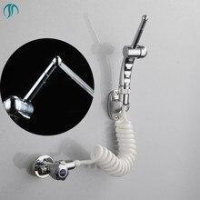 7 Holes Bidet Shower Sprayer Portable Bidet Hygienic Shower Mixer Watering Toilet Spray Gun Bathroom Toilet Bidet Shower