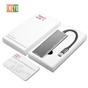 Image 3 - Laptop docking station Alles in een USB C naar HDMI Kaartlezer PD Adapter voor MacBookType C HUB