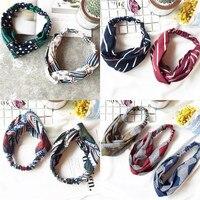 Fashion Headband For Women Sport Elastic Adult Print Hair Accessories For Girl Baby Girl Headbands Kawaii