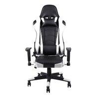 360 градусов вращения Rolling колёса офис Компьютерный стол эргономичная регулируемая высота игровой стул кресло гоночное кресло