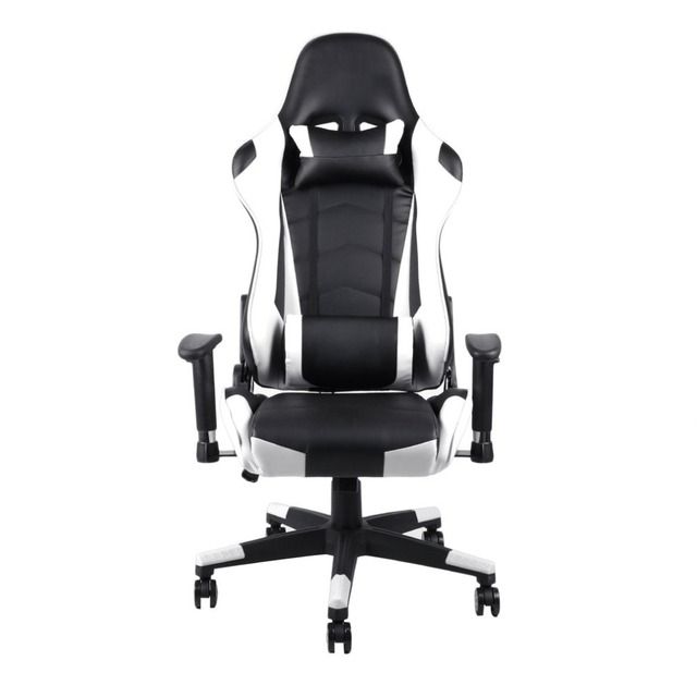 fba921739 360 Degree Rotation Rolling Wheels Home Office Computer Desk Ergonomic  Height Adjustable Gaming Chair Recliner Racing Chair