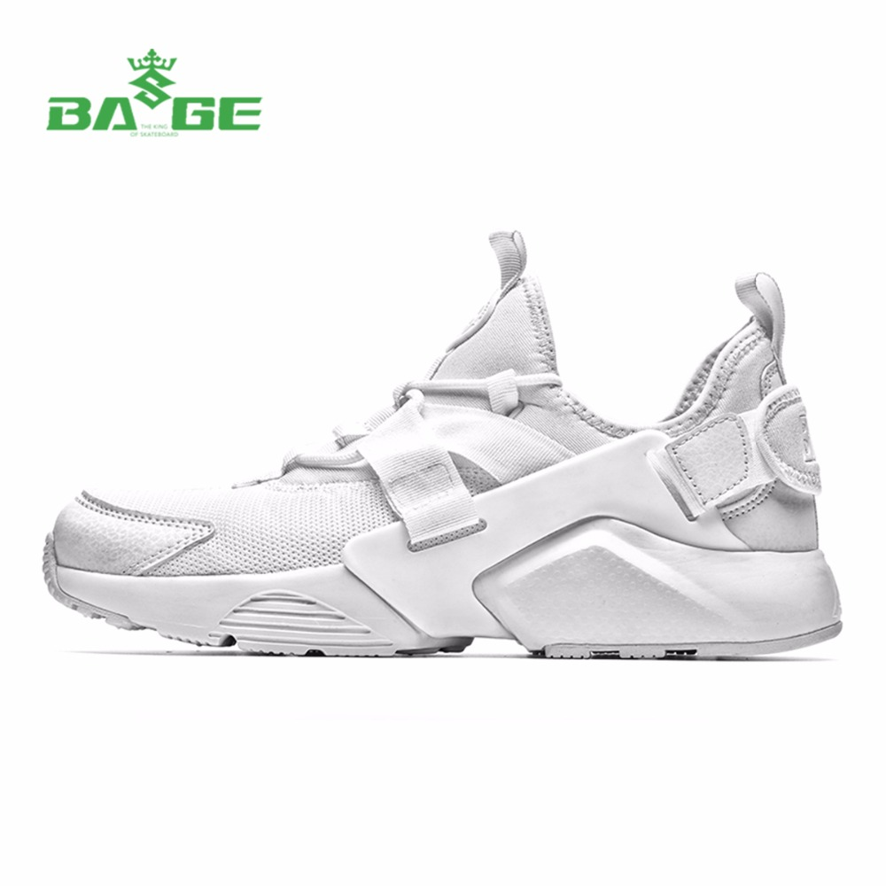 Bage Men's Running Shoes 2017 Original Light White Sneakers Jogging Sport Shoes for Men Mesh Breathable Athletic Shoes Men Shoes
