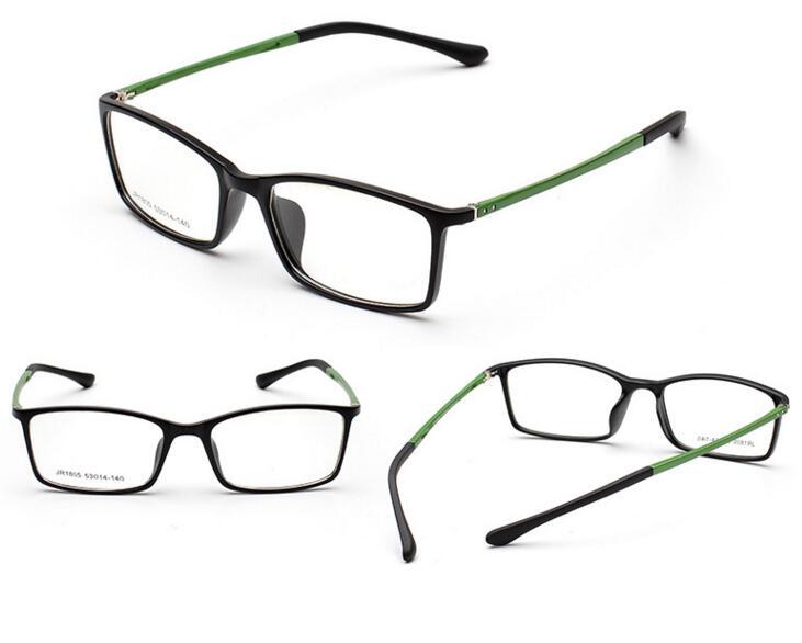 fc9a0736a482d TR90 Quadros Lentes PC Dinâmica Óculos Armações de Óculos Da Marca Óptica  Óculos Moldura de Vidro Liso Espetáculo Quadro Silicone