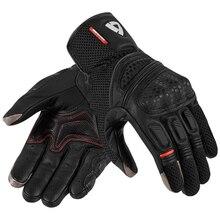 2019 Revit Dirt 2 Mens Black Leather Gloves Motorbike Moto O