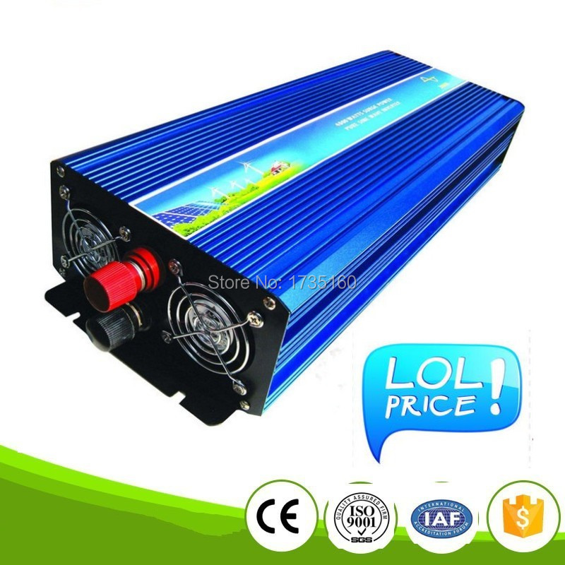 цена на 5000w pura sinus inverter 10000W Peak Pure Sine Wave Inverter 5000W Power Inverter 12v dc to 230V AC Digital DISPLAY