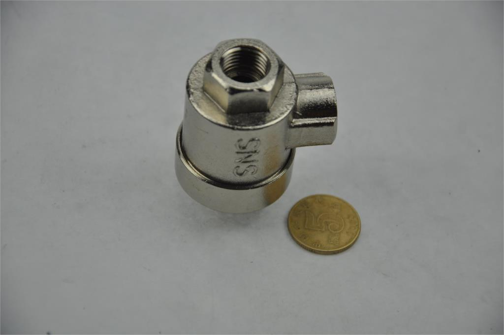 Air pneumatic Quick Exhaust Air Valve BQE-02 1/4 BSPT Brass Body  Cylinder accessories Compressing release valve brass pneumatic pipe 1 4 bspt to 1 4 bspt male thread m m equal union hex nipple