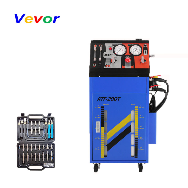 VEVOR 12V Auto Gearbox Flush Cleaning Machine Cleaner Transmission Fluid Oil Exchange Power Tool Accessories     - title=
