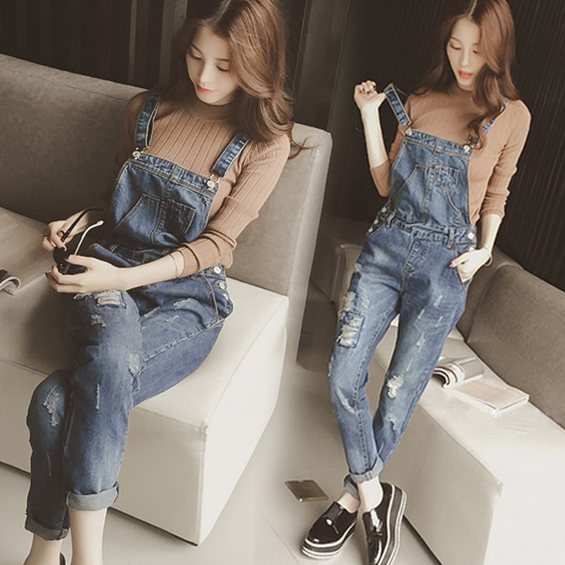 Fashionable Women Casual Solid Color Female Pockets Button Rompers Womens Jumpsuit Females Trendy Students Korean Style Ladies