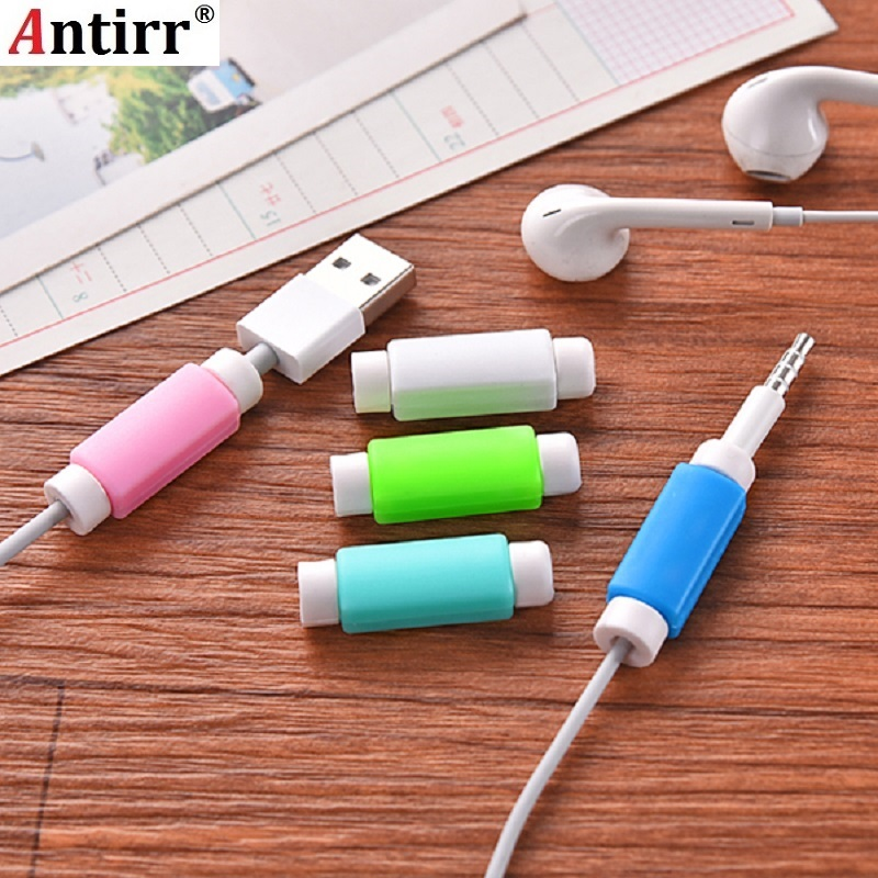 Cable Protector Saver USB Charging Data Line Protective Sleeves Cable Winder For IPhone 5s 6s Ipad Mini Free Shipping