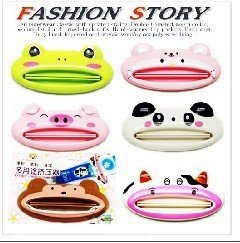 Fashion Toothpaste Squeezer ,Toothpaste tube holder,Toothbrush holder Free shipping