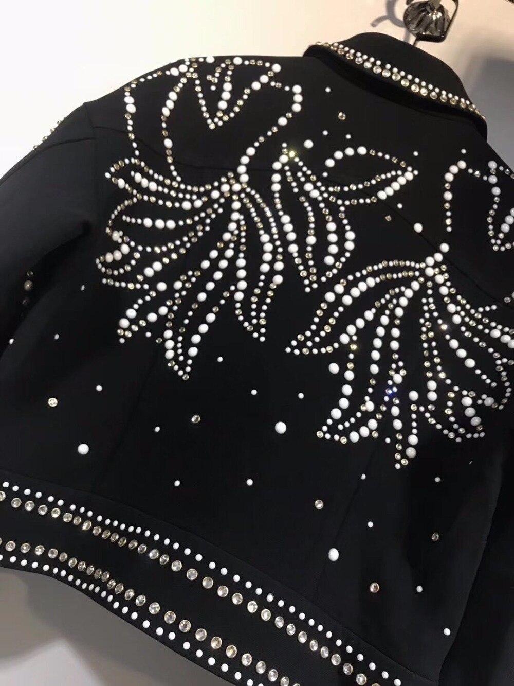 Européenne Et Marques Conception Piste 2018 Meilleur Noël Ordre Style Femmes Designer Vestes Vêtements Wrd10189 De Manteaux q4vzIF1w