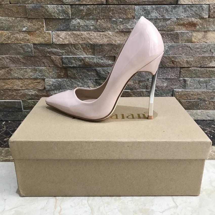 Chaussures 2018 Bout Parti Talons Femme Hauts Patent Mince Patent Femmes Pointu Sexy De Yxg Nude Mariage Pompes Black yxg Dames Classique 8qztxr8