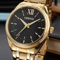 2017 chenxi reloj de oro hombres famosos de primeras marcas de lujo de cuarzo relojes de pulsera de oro reloj de cuarzo-reloj relogio masculino hodinky
