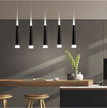Led Pendant Lamp dimmable Hanging lamps Kitchen Island Dining Room Shop Bar Counter Decoration Cylinder Pipe Kitchen Lights led pendant lights kitchen island dining room shop bar counter decoration cylinder pipe pendant lamps kitchen lights