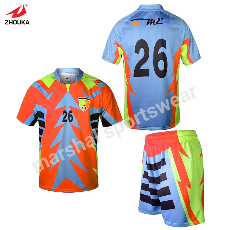 Orange quick dry oem soccer shirts china factory free for Custom shirts fast delivery
