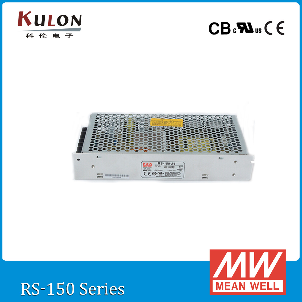 Genuine Mean Well RS-150-5 130W 5V 26A meanwell Switch mode Power Supply CB UL CE approved pso 502 ul af 150 0 5 3гр в питере