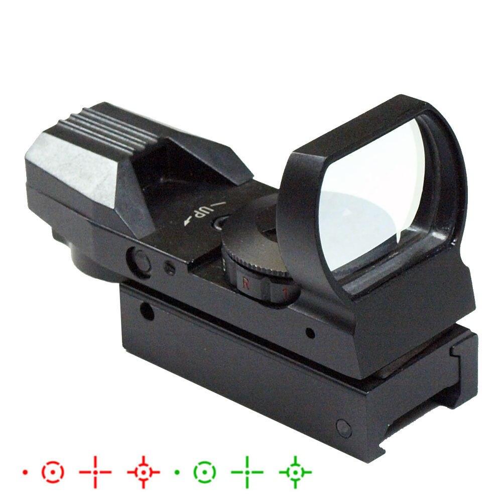 Visor táctico de caza de 2.5-10X40 con láser rojo y vista - Caza - foto 5