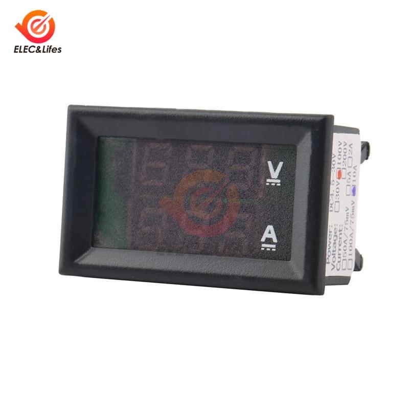HTB1zKewaU rK1Rjy0Fcq6zEvVXa6 DC 0-100V 10A 50A 100A Electronic Digital Voltmeter Ammeter 0.56'' LED Display Voltage Regulator Volt AMP Current Meter Tester