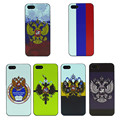 Para iphone 5s 5 se caso russo bandeira da tampa da pele para apple i phone iphone 5 5s telefone fundas coque