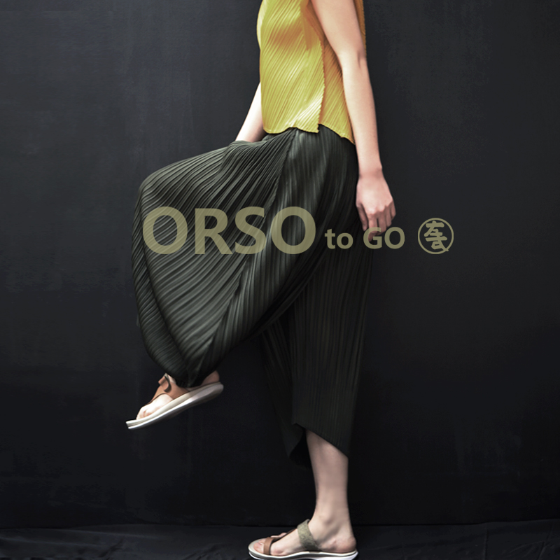 Summer New Fashion Harem Pants Ladies Loose Casual Asymmetrical Large Size Black Pants Women Chic Elastic