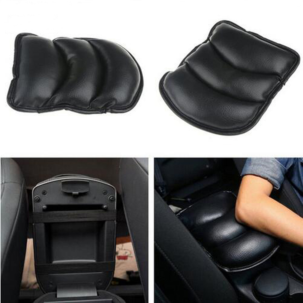Car Armrests Cover Pad Vehicle Center Console Arm Rest Seat Pad For Ford Focus Fusion Kuga Ecosport Fiesta Falcon Edge Evos-in Car Stickers from Automobiles & Motorcycles