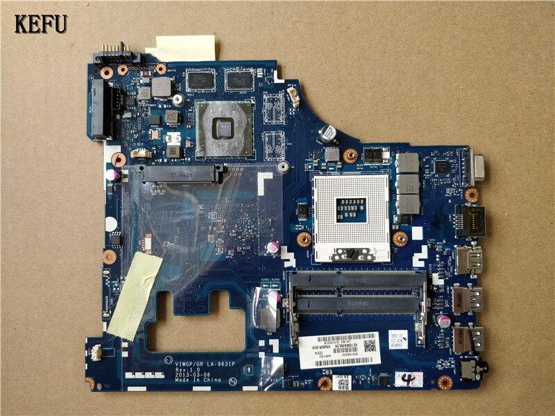 KEFU 送料無料レノボ G500 ノートパソコンのマザーボード VIWGP/GR HM76 LA 9631P スーツため i3 i5 cpu 100% テスト =  グループ上の パソコン & オフィス からの マザーボード の中 1