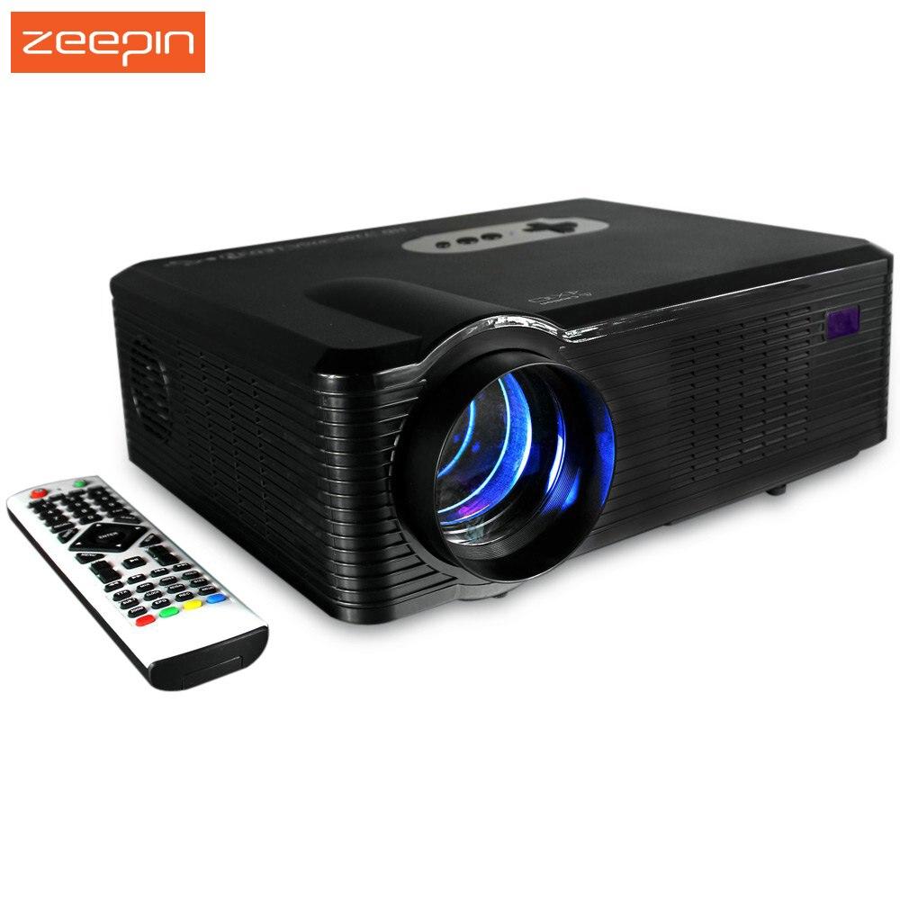 Prix pour Date D'origine Zeepin CL720 Multi-fonction 3000LM 1280x800 Pixels LED Projecteur avec TV Analogique Interface pour La Maison entreprise