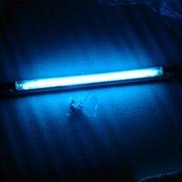 T5 прямые Бактерицидные УФ-излучения света трубки с кронштейном, УФ + Озон для бытовых медицинский стерилизатор, 4 Вт 6 Вт 8 Вт ультрафиолетово...