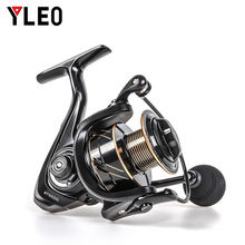 YLEO Hot Sale13+1BB Spinning Fishing Reel Metal RT1000-7000 Series Tackle Left/Right Hand