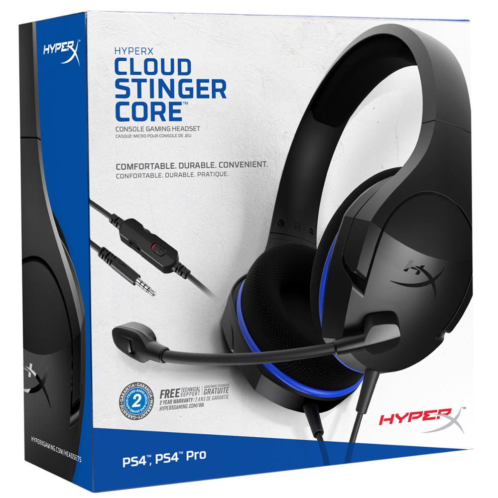 Image 5 - Latest KINGSTON HyperX Cloud Stinger Headband Lightweight comfort double sound game headset adjustable volume With a microphone-in Headphone/Headset from Consumer Electronics