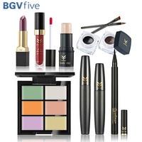 Hot New Concealer Powder Highlighter Lipstick Lipgloss Mascara Eyeliner Pen Eyeliner Cream Cosmetic Makeup Set