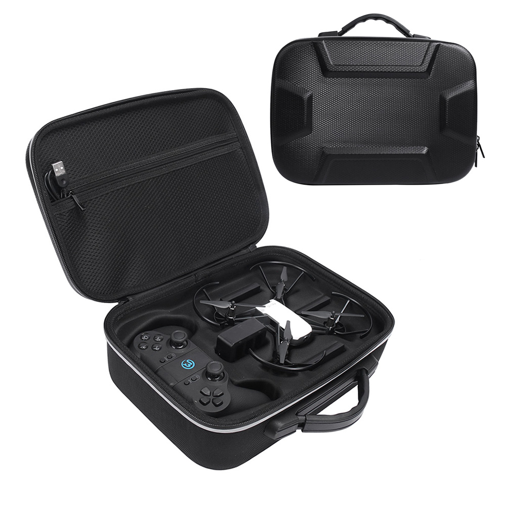 2019 New Top Protective Carrying Bag Box Cover Case For DJI Tello Drone With Gamesir T1D Gamepad Remote Controller Storage Bag