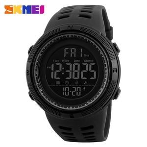 Image 2 - SKMEI Brand Men Sports Watches Fashion Chronos Countdown Mens Waterproof LED Digital Watch Man Military Clock Relogio Masculino