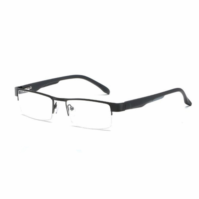 50c6d99f09 Detail Feedback Questions about Men s mental Reading Glasses Stainless Steel  Farsightedness +100 +150 200 +250+300 +350 +400 Black Gunmetal Gold on ...