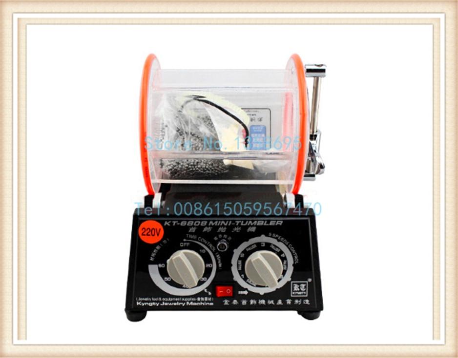 Capacité 3 kg machine à polir le tambour, gobelet rotatif de bijoux, machine à culbuter, Mini-gobelet, outils et équipement de bijoux