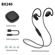 PLEXTONE BX240 Sweatproof Deporte Auricular Bluetooth Inalámbrico Auriculares Estéreo de Auriculares Con Micrófono para iPhone Samsung HTC Huawei