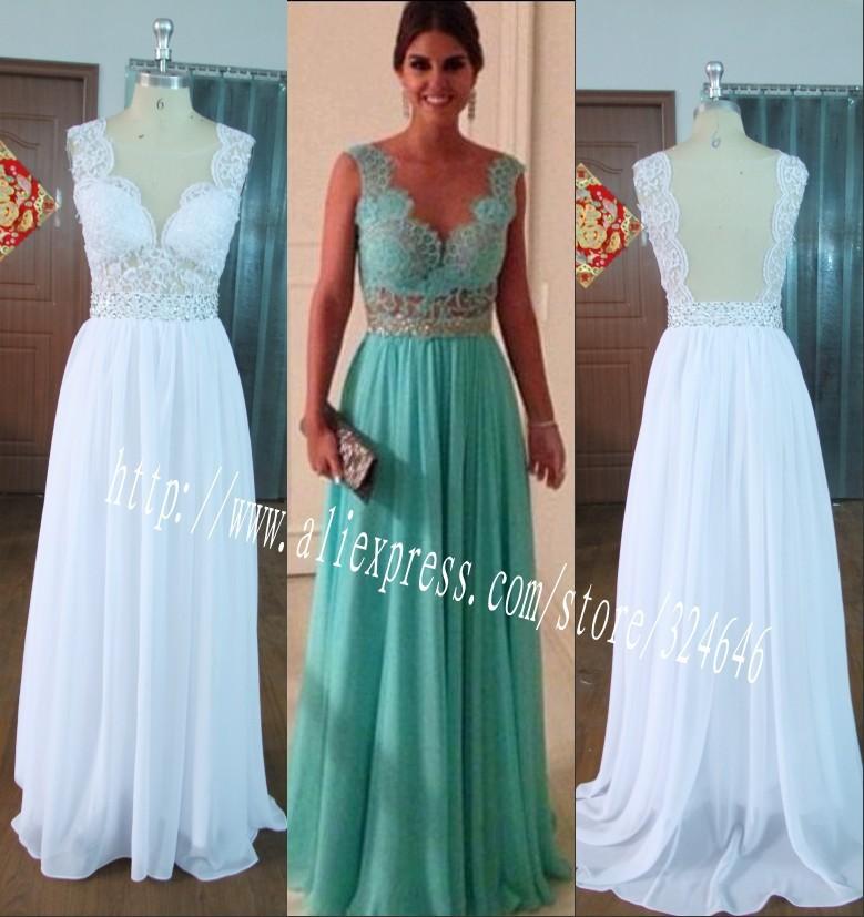 бдх кружева прозрачные зеленый шифон мать невесты платья вечерние платья