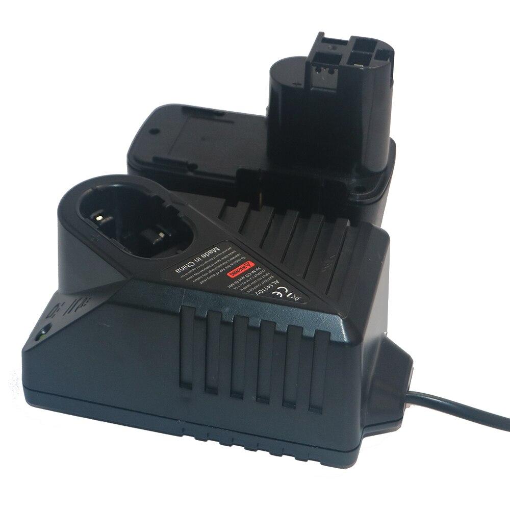 12 V outils électriques batterie Rechargeable avec remplacement AL1411DV chargeur pour Bosch perceuse électrique BAT011 2 607 335 GSB12VE-2