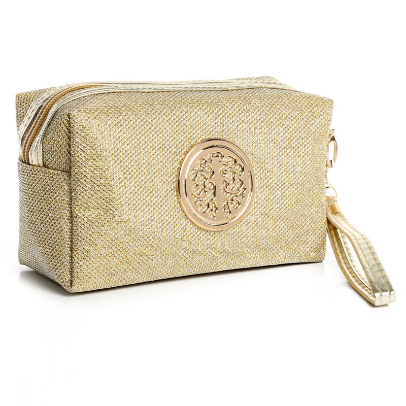 2018 Multifunction Sequins Cosmetic Bag Women Make up Bag Wash Pouch Toiletry KitsTravel Waterproof Portable Makeup Accessories
