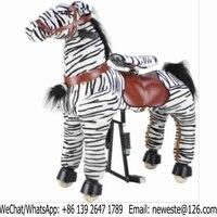 70pcs Large Size Amusement Park Kids Mechanical Animal Horse Kiddie Rides For Sale