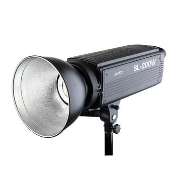 Free DHL Godox SL-200W 200Ws 5600K Studio LED Continuous Photo Video Light Lamp For All DSLR Camera + Remote Control